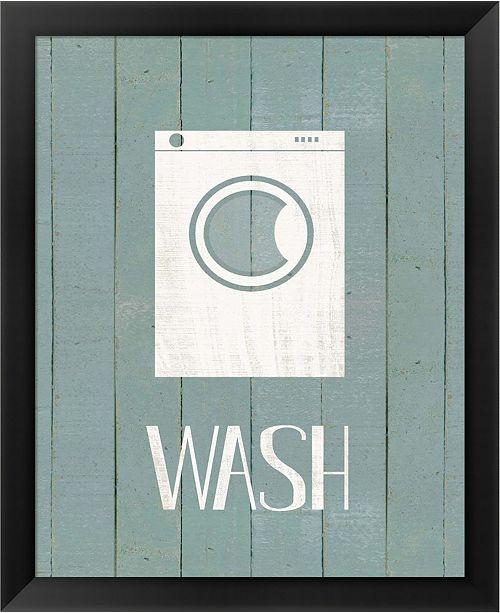 Metaverse Wash House Wash By Jo Moulton Framed Art