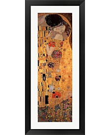 The Kiss 1908 By Gustav Klimt Framed Art
