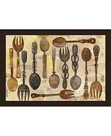 Spoons And Forks By Albena Hristova Framed Art