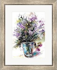 Lavender Still Life by Sophia Rodionov Framed Art