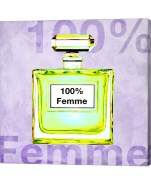 100% Femme By Michelle Clair Canvas Art