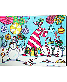 ChristmasTime by Dawn Collins Canvas Art