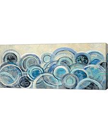 Variation Blue by Silvia Vassileva Canvas Art