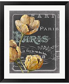Chalkboard Paris Ii By Studio W Framed Art