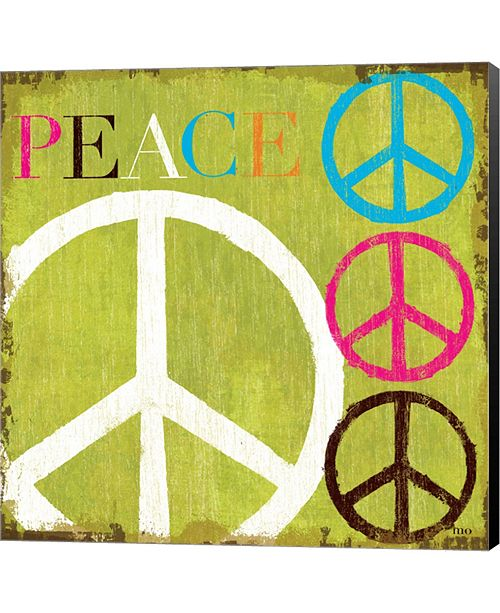 Metaverse Peace By Mo Mullan Canvas Art