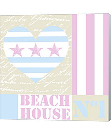 Beach House Love By Andrea Haase Canvas Art