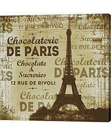 De Paris By Andrea Haase Canvas Art