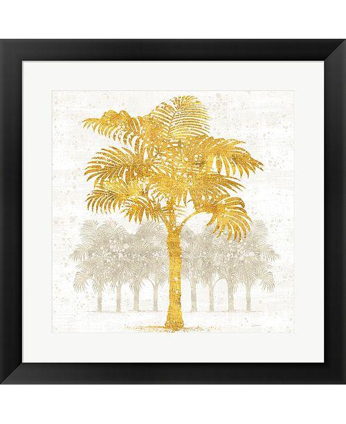 Metaverse Palm Coast Iii By Sue Schlabach Framed Art
