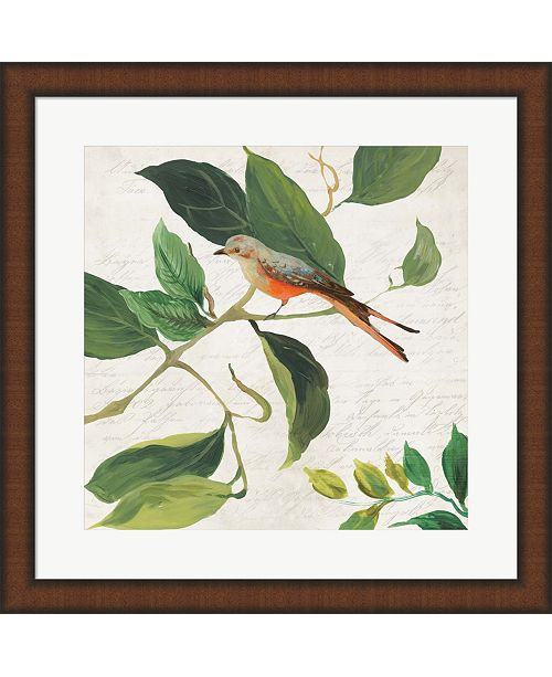 Metaverse Singing Bird I By Asia Jensen Framed Art