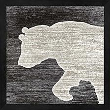 Dog II by Julie Beyer Framed Art