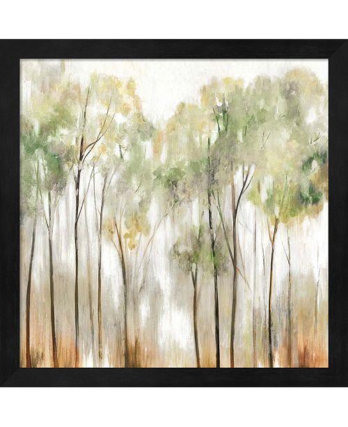 Metaverse In The Fog I By Allison Pearce Framed Art