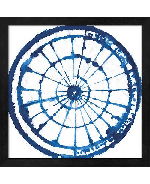 Metaverse Indigo Dye Iii By Aimee Wilson Framed Art