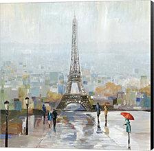 Paris by Allison Pearce Canvas Art