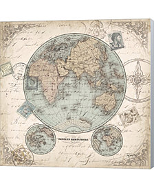 World Hemispheres I by Tre Sorelle Studios Canvas Art