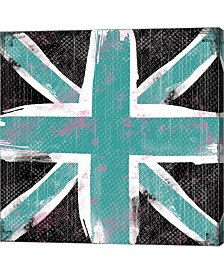 Union Jack Blue And By Louise Carey Canvas Art