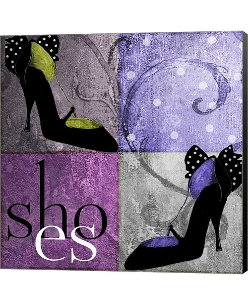 Metaverse Shoes I By Mindy Sommers Canvas Art