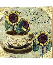 Cafe Du Soleil By Mindy Sommers Canvas Art
