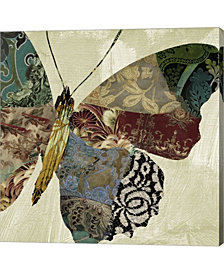 Butterfly Brocade Ii By Color Bakery Canvas Art
