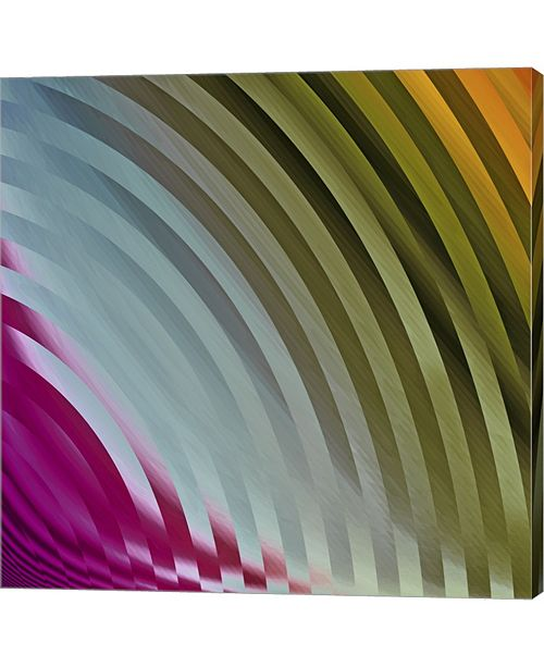 Metaverse Satin I By Color Bakery Canvas Art