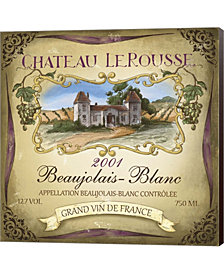 Chateau Le Rousse By Fiona Stokes-Gilbert Canvas Art