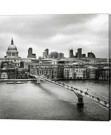 London Millenium Bri By Nina Papiorek Canvas Art