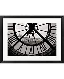 Big Clock Horizontal By Christopher Bliss Framed Art