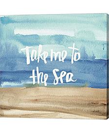 Coastal Breeze Quot2 By Anne Tavoletti Canvas Art