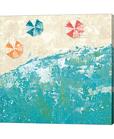 Beach Days By Sarah Adams Canvas Art