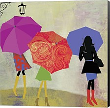 Umbrella Girls By Posters International Studio Canvas Art