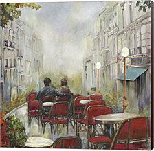 Paris Cafe by Posters International Studio Canvas Art