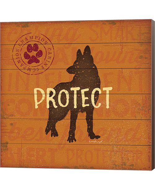 Metaverse Protect Dog By Jennifer Pugh Canvas Art