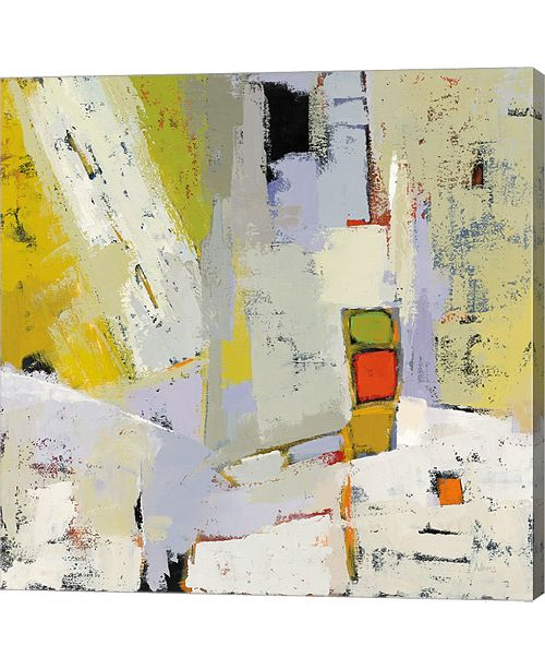 Metaverse On The Sunnyside Of The Street By Phyllis Adams Canvas Art