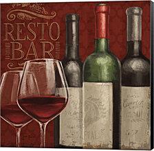 Bistro Paris IV by Janelle Penner Canvas Art