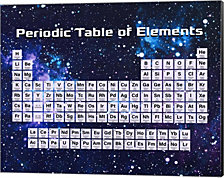 Periodic Table Of Elements Space Theme by Color Me Happy Canvas Art