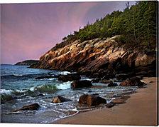 Acadia Magic by Natalie Mikaels Canvas Art
