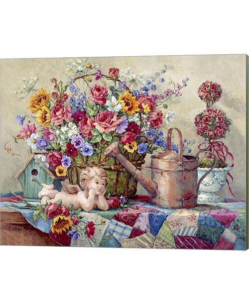Metaverse Romantic Repose By Barbara Mock Canvas Art