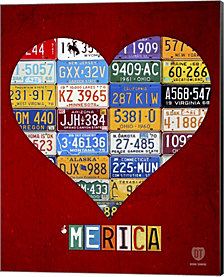 Merica By Design Turnpike Canvas Art