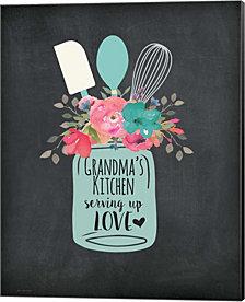 Grandma'S Kitchen By Jo Moulton Canvas Art