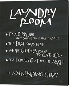 Laundry Room Sayings By Chris Paschke Canvas Art