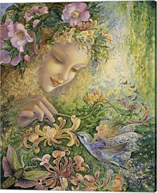 Honeysuckle By Josephine Wall Canvas Art