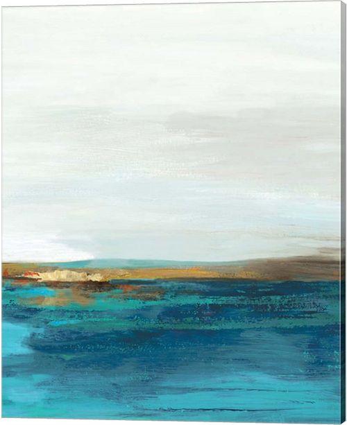 Metaverse Pastoral Landscape Ii By Tom Reeves Canvas Art