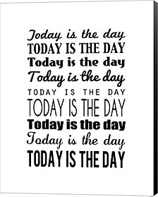 Today is the Day 14 by Louise Carey Canvas Art