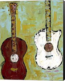 Six Strings I By Deann Hebert Canvas Art