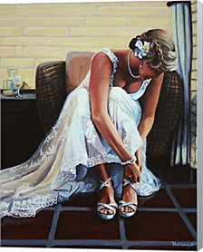 Noelle Wedding By Paul Walsh Canvas Art
