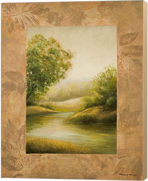 Metaverse Northern Lake By Michael Marcon Canvas Art