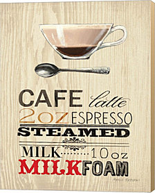 Cafe Latte by Marco Fabiano Canvas Art
