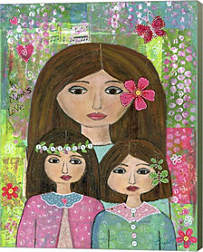 Daughters by Elizabeth Claire Canvas Art