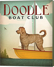 Doodle Sail by Ryan Fowler Canvas Art