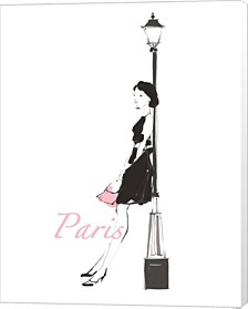 French Chic Iii Pink On White By Avery Tillmon Canvas Art