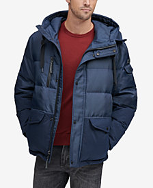 Marc New York Men's Stanton Mid-Length Hooded Puffer Jacket